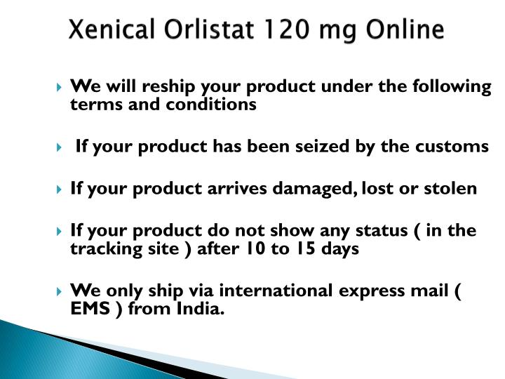 Xenical orlistat 120 mg online1