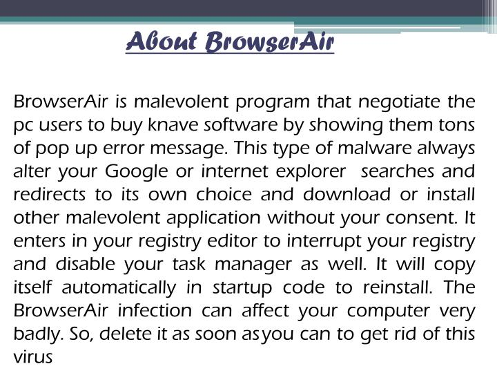 About BrowserAir