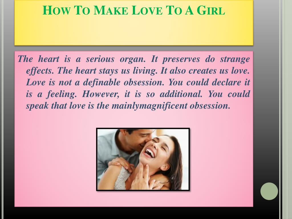 PPT - How To Make Love To A Girl 91-8107523709 PowerPoint