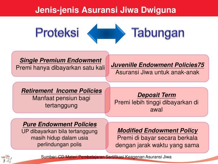 Jenis-jenis Asuransi Jiwa Dwiguna