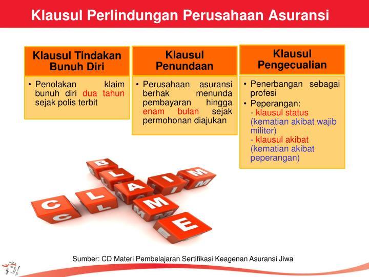 Klausul Perlindungan Perusahaan Asuransi