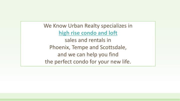 We Know Urban