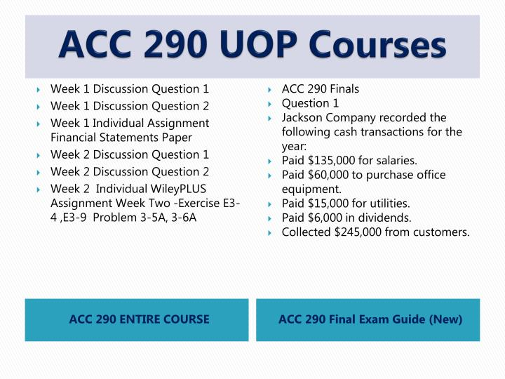 Acc 290 uop courses1