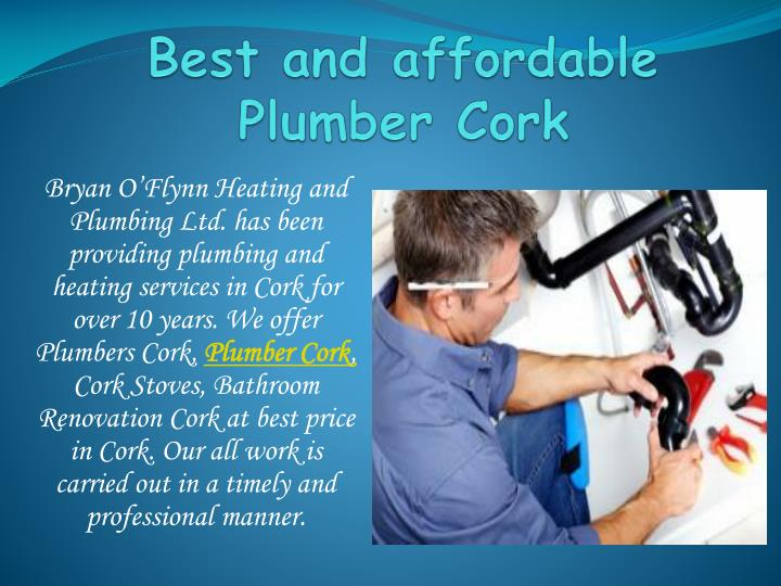 best and affordable plumber cork n.