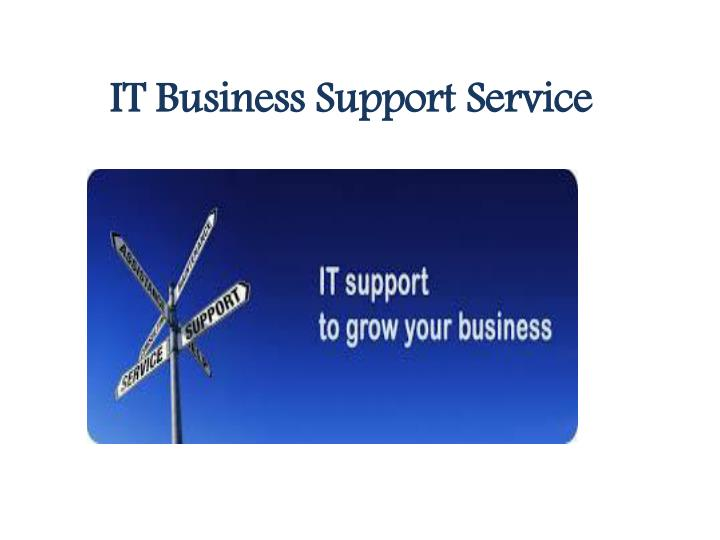 it business support service n.