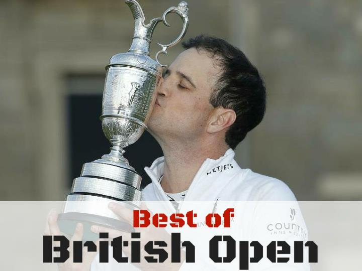 best of the british open n.