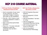 hcp 210 course material8