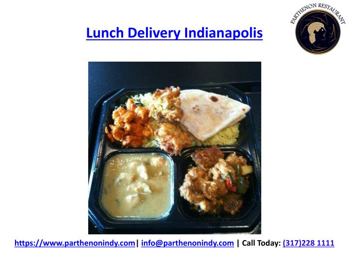 Lunch Delivery Indianapolis