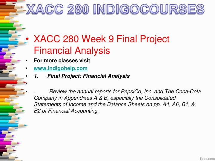 final project financial analysis