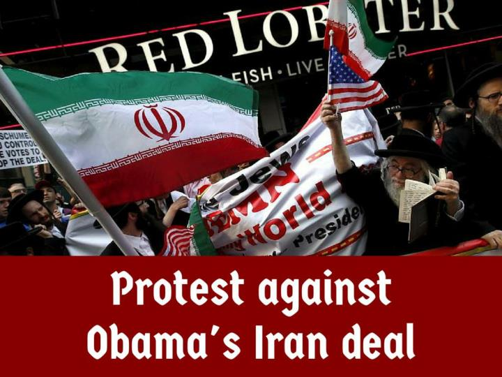protest against obama s iran deal n.