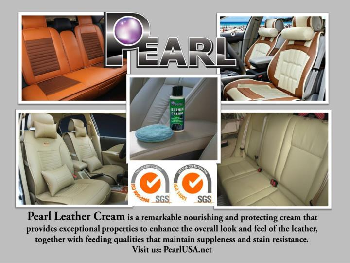 Pearl Leather Cream