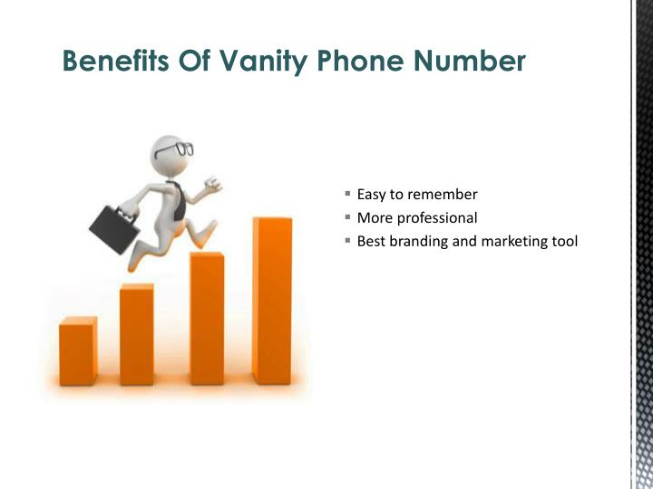 Ppt Benefits Of Local Vanity Numbers Powerpoint Presentation Id 7181858