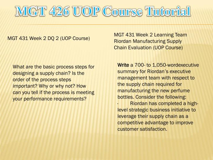 mgt 426 Uoptutorial is your one stop shop for bus 475 and mgt 350 final exam study guide.