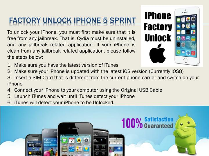 Factory unlock iphone jailbreak