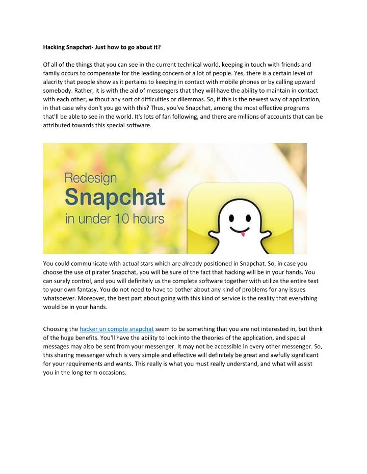PPT - pirater snapchat PowerPoint Presentation - ID:7182726
