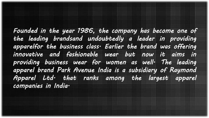 Founded in the year 1986, the company has become one of the leading