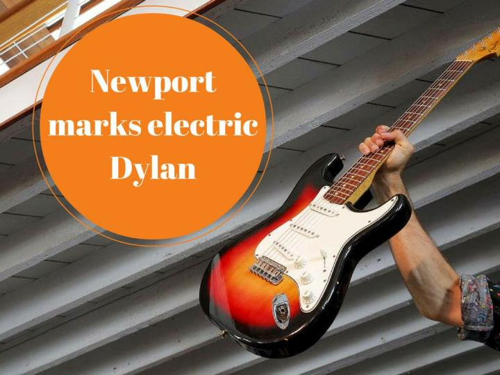 newport marks electric dylan n.