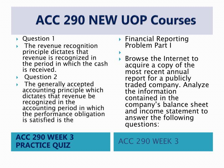 weekly reflection acc290 Acc 290 week 2 weekly reflection discuss the objectives for week one how do they relate to the practice of accounting and its uses in business identify the four basic financial statements.