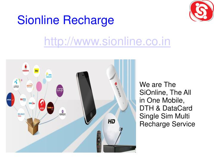 PPT - one sim all recharge distributor | recharge software | online
