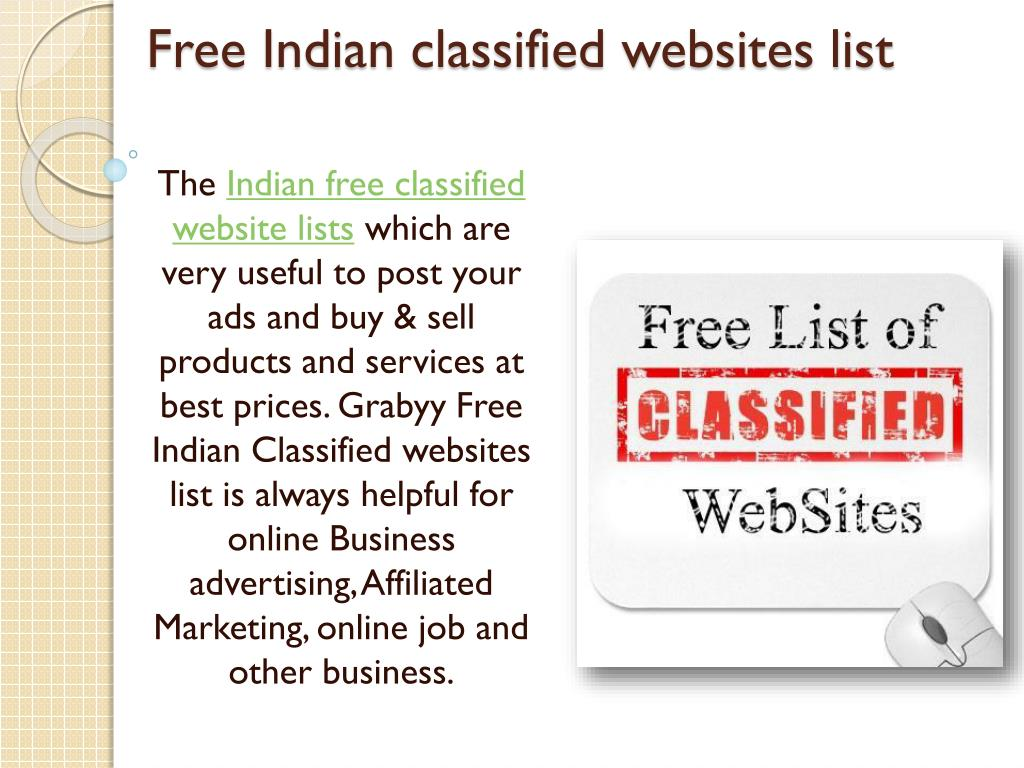 PPT - Free classified ads posting in India PowerPoint Presentation