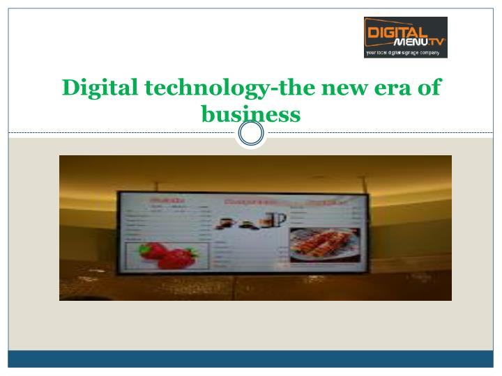 digital technology the new era of business n.