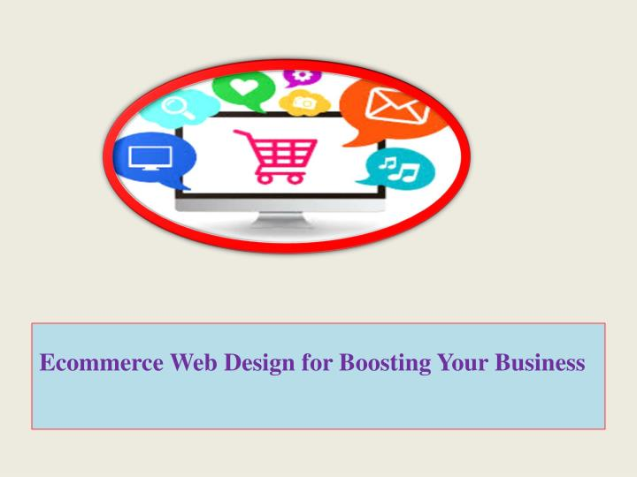 ecommerce web design for boosting your business n.
