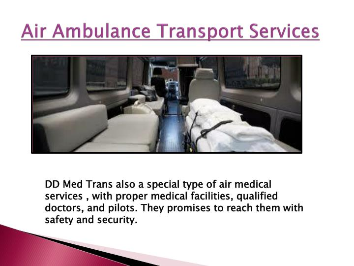 Air Ambulance Transport
