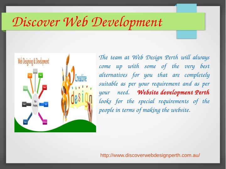 DiscoverWebDevelopment