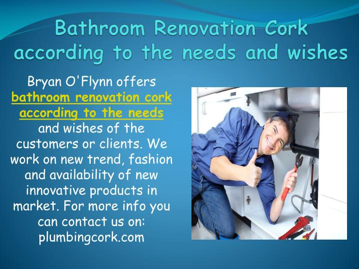 bathroom renovation cork according to the needs and wishes n.