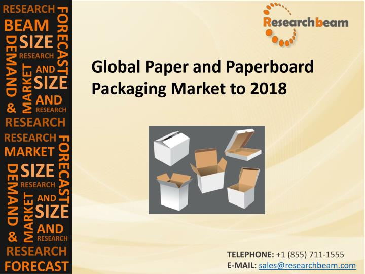 market and research paper Marketsandmarkets's™ flagship competitive intelligence and market research platform, knowledgestore connects over 200,000 markets and entire value chains for deeper understanding of the unmet insights along with market sizing and forecasts of niche markets.