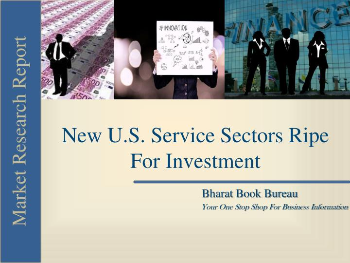 New U.S. Service Sectors Ripe For Investment