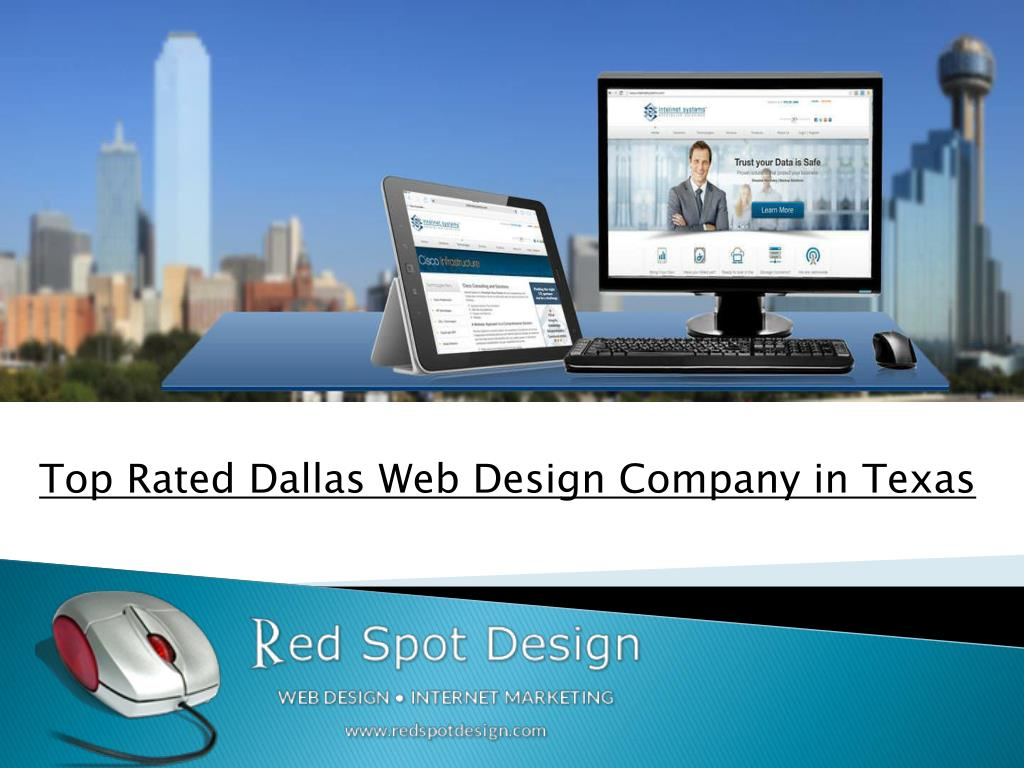 PPT - Top Rated Dallas Web Design Company in Texas