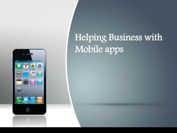 helping business with mobile apps n.