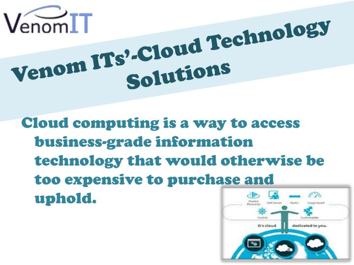Venom its cloud technology solutions2