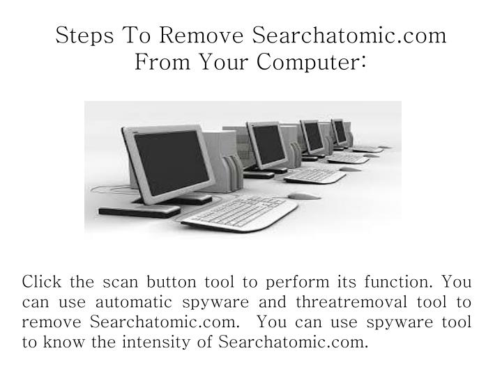 Steps To Remove Searchatomic.com