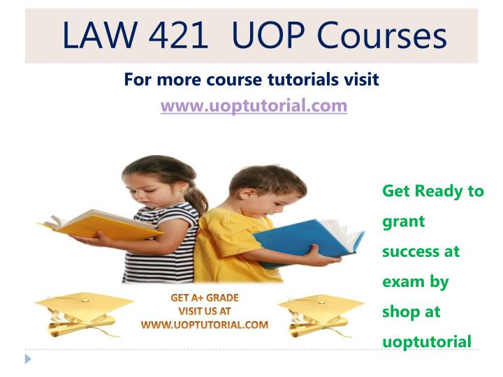 law 421 uop courses n.