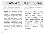 law 421 uop courses4
