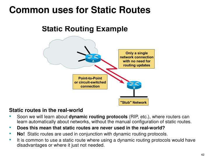 computer network and dynamic routing protocols This set of objective questions on routing protocol in computer networks includes mcqs of distance vector routing protocols, routing tables, static routing methods, static and dynamic routing protocols, interior gateway protocol(igp) and exterior gateway protocol(egp.