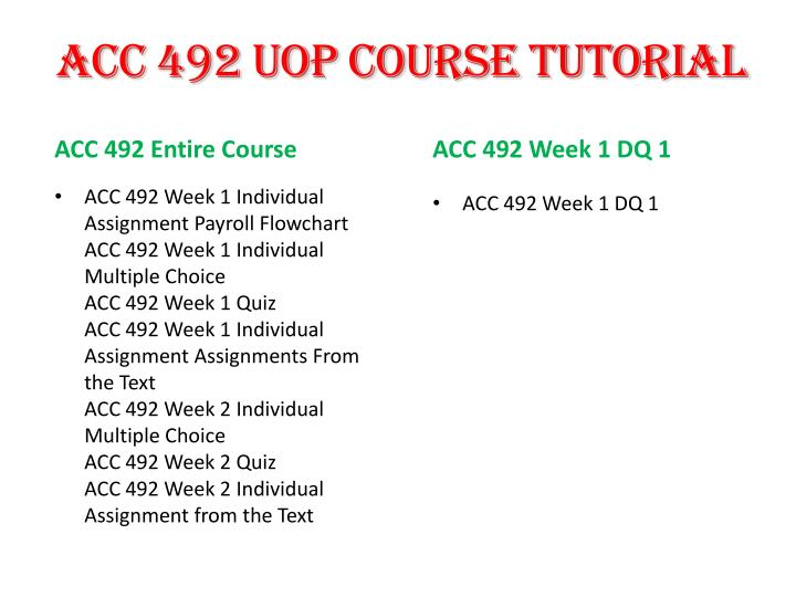 acc 492 entire course Acc 492 entire course acc 492 week 1 assignments from the text acc 492 week 1 dqs acc 492 week 2 assignments from the text acc 492 week 2 dqs acc 492 week 2 lta apollo shoes case assignment (accounts receivable memo.