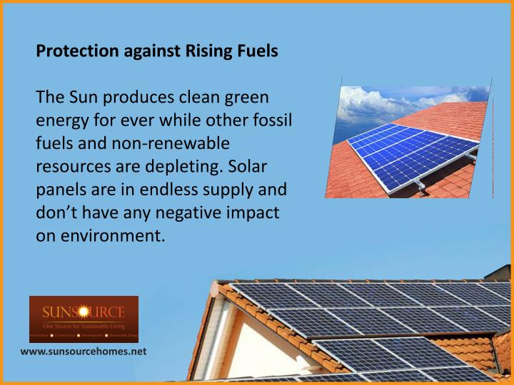 Protection against Rising Fuels