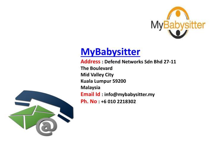 MyBabysitter