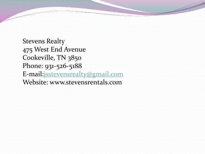Stevens Realty