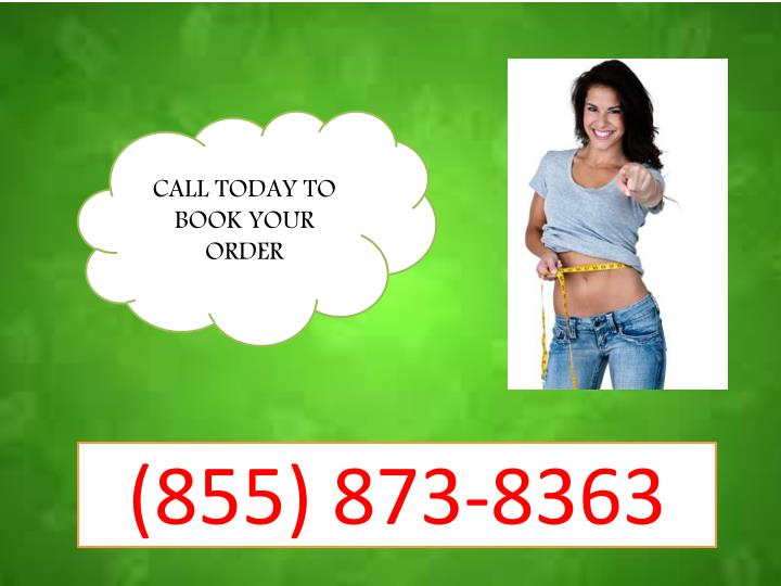 CALL TODAY TO BOOK YOUR ORDER