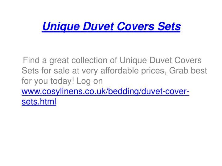Unique duvet covers sets1