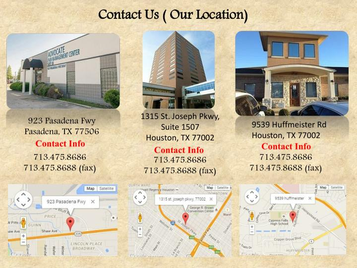 Contact Us ( Our Location)