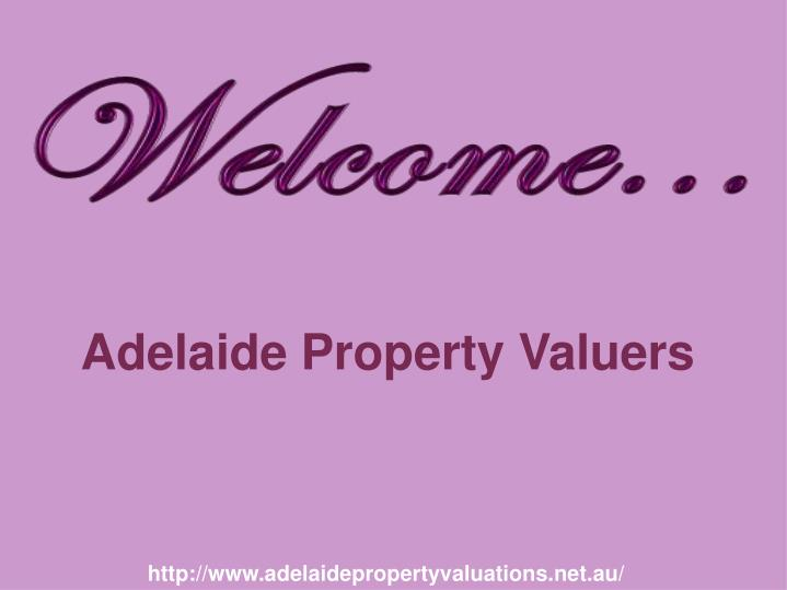 adelaide property valuers n.
