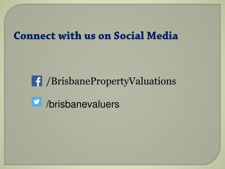 Connect with us on Social Media