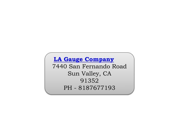 LA Gauge Company