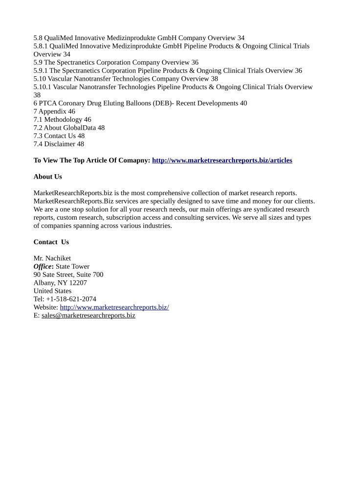 5.8 QualiMed Innovative Medizinprodukte GmbH Company Overview 34