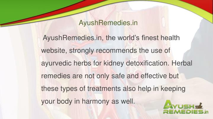 AyushRemedies.in